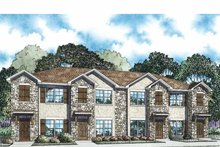 Traditional Exterior - Front Elevation Plan #17-3358