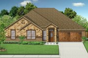 Traditional Style House Plan - 4 Beds 2 Baths 2140 Sq/Ft Plan #84-626 Exterior - Front Elevation