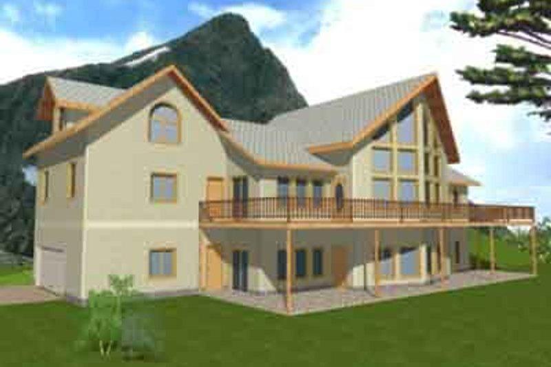 Modern Exterior - Front Elevation Plan #117-171