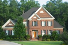 Dream House Plan - Traditional Exterior - Front Elevation Plan #1054-59