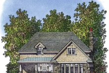 Country Exterior - Front Elevation Plan #1016-70