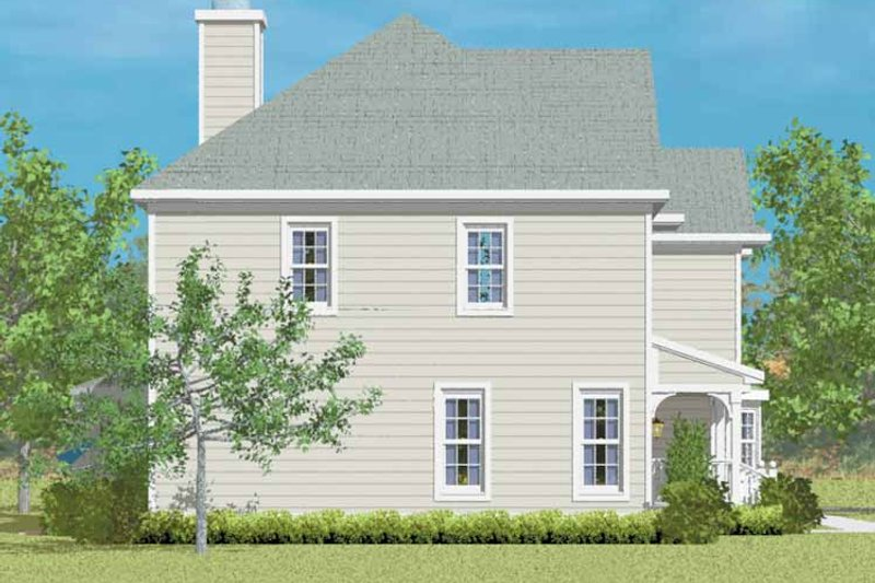 Country Exterior - Other Elevation Plan #72-1092 - Houseplans.com