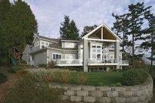 Dream House Plan - Craftsman Exterior - Rear Elevation Plan #132-485