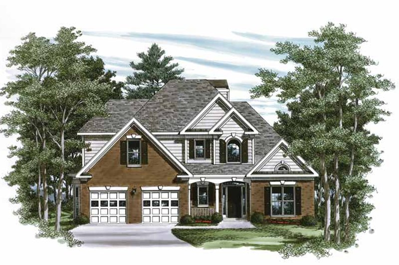 Traditional Exterior - Front Elevation Plan #927-221