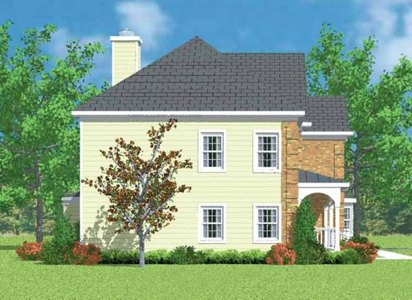 Country Floor Plan - Other Floor Plan Plan #72-1102