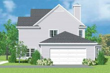 Country Exterior - Other Elevation Plan #72-1101