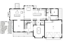 Traditional Floor Plan - Main Floor Plan Plan #497-46