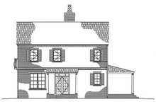 House Plan Design - Traditional Exterior - Other Elevation Plan #1042-10