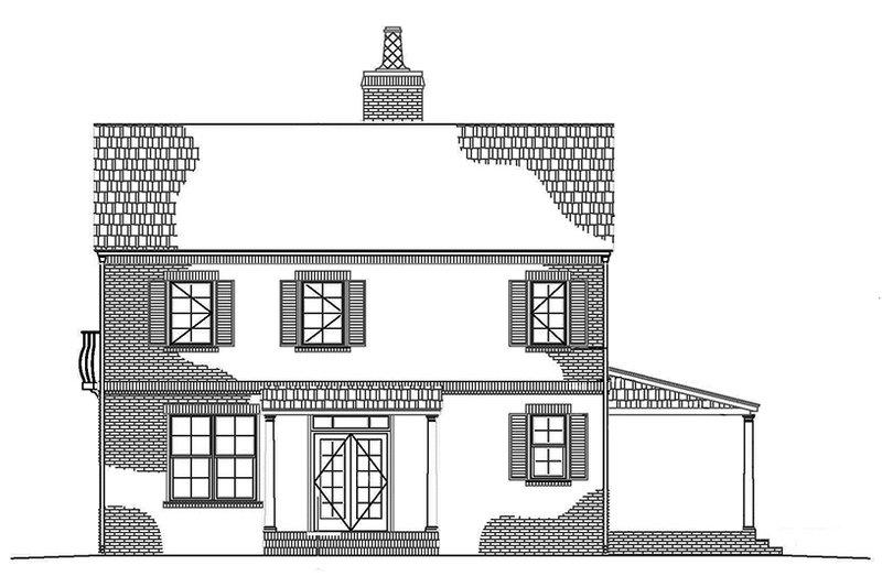 Tudor Exterior - Other Elevation Plan #1042-10 - Houseplans.com