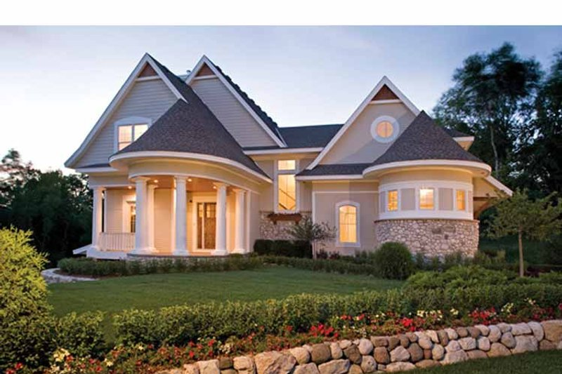 Home Plan - Victorian Exterior - Front Elevation Plan #56-694