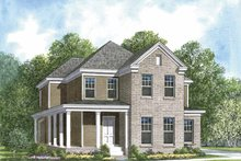 House Plan Design - Colonial Exterior - Front Elevation Plan #952-198