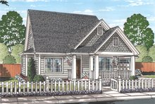 Home Plan - Traditional Exterior - Front Elevation Plan #513-2162