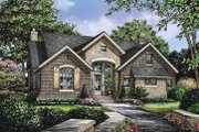 European Style House Plan - 3 Beds 2.5 Baths 1898 Sq/Ft Plan #929-830 Exterior - Front Elevation