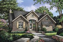 Dream House Plan - European Exterior - Front Elevation Plan #929-830