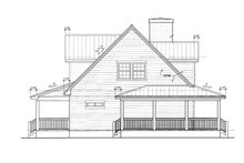 Architectural House Design - Country Exterior - Other Elevation Plan #140-183