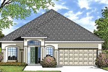 House Design - European Exterior - Front Elevation Plan #417-827