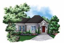 Craftsman Exterior - Front Elevation Plan #1017-137