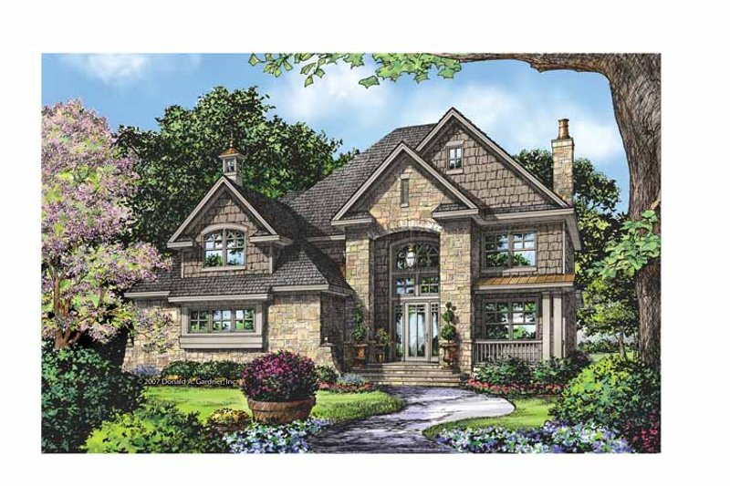Country Exterior - Front Elevation Plan #929-835 - Houseplans.com