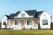Farmhouse Style House Plan - 4 Beds 3.5 Baths 2400 Sq/Ft Plan #1074-24