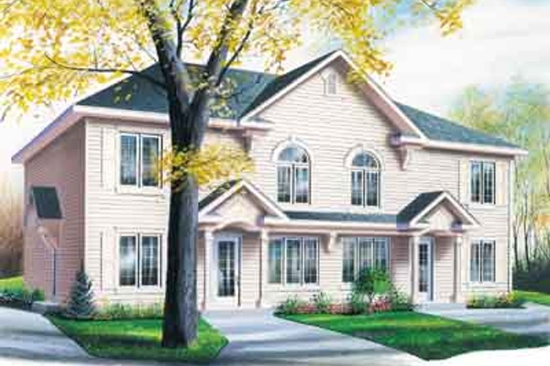 Home Plan - Southern Exterior - Front Elevation Plan #23-516