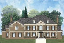 Colonial Exterior - Front Elevation Plan #119-408