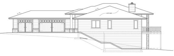 Prairie Floor Plan - Other Floor Plan Plan #509-417