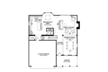 Traditional Floor Plan - Main Floor Plan Plan #137-362