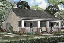 House Plan Design - Country Exterior - Front Elevation Plan #17-3147