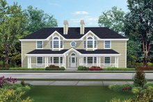 Country Exterior - Front Elevation Plan #57-143