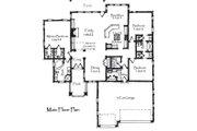 Craftsman Style House Plan - 3 Beds 2.5 Baths 1901 Sq/Ft Plan #921-20 Floor Plan - Main Floor Plan