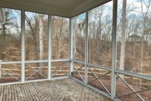 Farmhouse Exterior - Outdoor Living Plan #437-97
