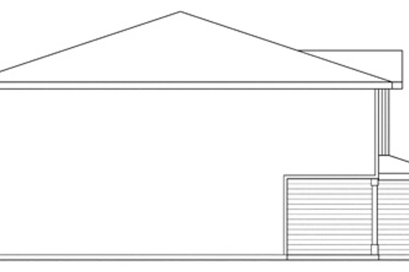Traditional Exterior - Other Elevation Plan #124-571 - Houseplans.com