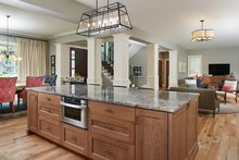 Dream House Plan - Craftsman Interior - Kitchen Plan #928-312