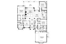Country Floor Plan - Main Floor Plan Plan #938-48