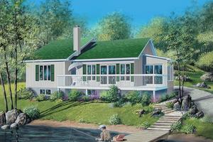 Exterior - Front Elevation Plan #25-1043