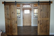 Craftsman Interior - Entry Plan #124-1005