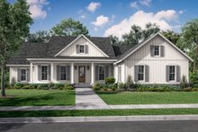 Dream House Plan - Farmhouse Exterior - Front Elevation Plan #430-232