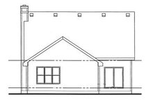 Farmhouse Exterior - Rear Elevation Plan #20-750