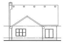 Home Plan - Farmhouse Exterior - Rear Elevation Plan #20-750