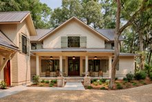 Architectural House Design - Southern Exterior - Front Elevation Plan #928-316