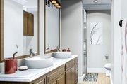 Cottage Style House Plan - 3 Beds 2 Baths 1725 Sq/Ft Plan #406-9660 Interior - Master Bathroom