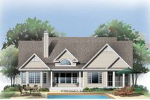 Architectural House Design - Traditional Exterior - Rear Elevation Plan #929-779