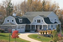 Dream House Plan - Colonial Exterior - Front Elevation Plan #928-298