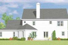 House Plan Design - Victorian Exterior - Rear Elevation Plan #72-1090
