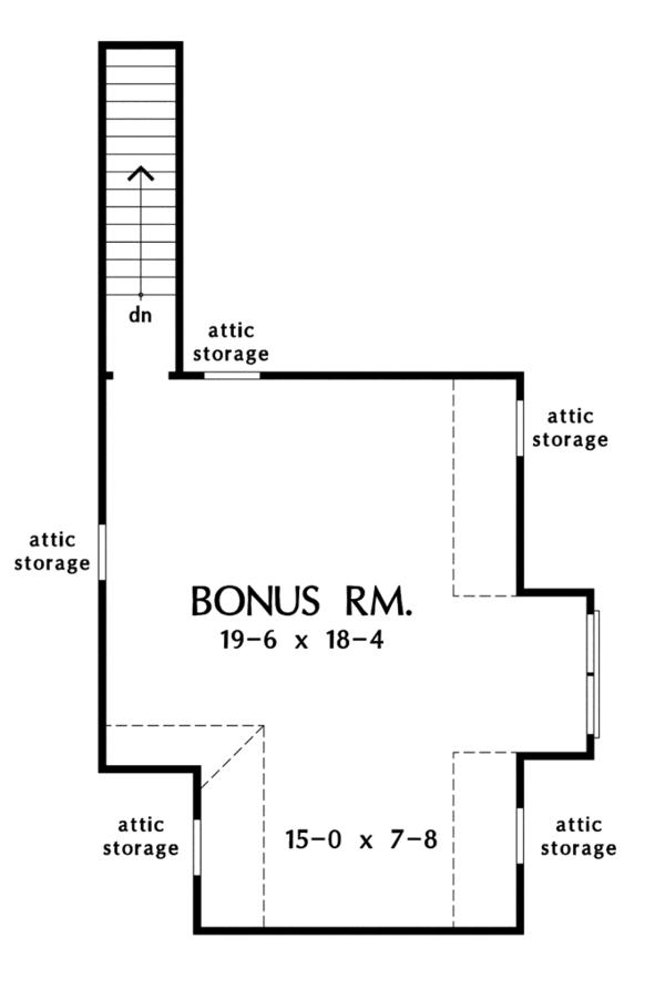 Architectural House Design - Craftsman Floor Plan - Other Floor Plan #929-948