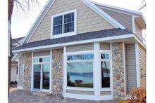 Dream House Plan - Craftsman Exterior - Front Elevation Plan #981-17