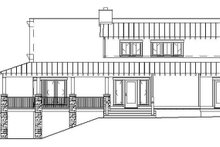 Cabin Exterior - Other Elevation Plan #17-3303