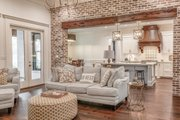 European Style House Plan - 3 Beds 2 Baths 2854 Sq/Ft Plan #430-192 Interior - Family Room