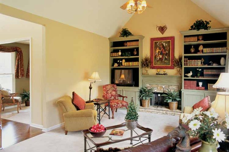 Classical Interior - Family Room Plan #927-655 - Houseplans.com