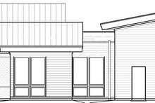 Home Plan - Contemporary Exterior - Other Elevation Plan #895-41
